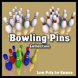 3D Model - Bowling Pins Collection