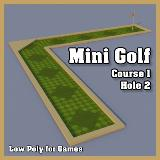 3D Model - Mini Golf Course 1 Hole 2