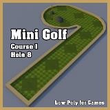 3D Model - Mini Golf Course 1 Hole 8