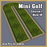 3D Model - Mini Golf Course 1 Hole 10