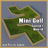 3D Model - Mini Golf Course 1 Hole 12