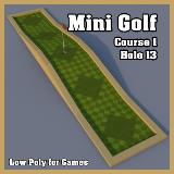 3D Model - Mini Golf Course 1 Hole 13