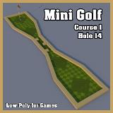 3D Model - Mini Golf Course 1 Hole 14