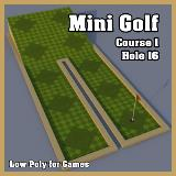 3D Model - Mini Golf Course 1 Hole 16