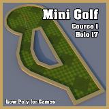 3D Model - Mini Golf Course 1 Hole 17