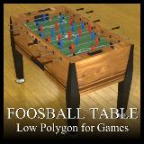 3D Model - Foosball Table