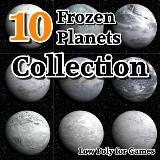 3D Model - 10 Frozen Planets Collection
