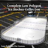 3D Model - Complete Ice Hockey Collection