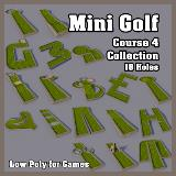 3D Model - Mini Golf Course 4 Collection