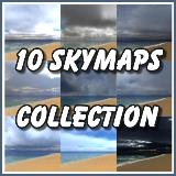 Texture - 10 Skymaps Collection