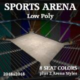 3D Model - Indoor Sports Arena Collection