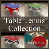 3D Model - Table Tennis Collection