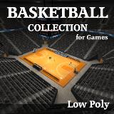 3D Model - Complete Basketball Collection