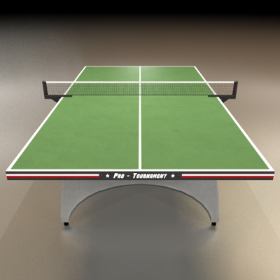 Ping Pong Table Green 3d Ping Pong Table Model Ping Pong Table