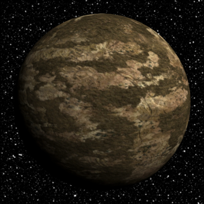 Tronitec Game Studios 10 Dry Barren Planets Collection 3d Planet