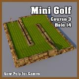 3D Model - Mini Golf Course 3 Hole 14